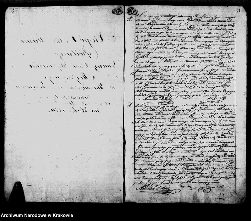 """image.from.unit """"Księga Aktow Urodzenia Gminy Wyznania Moyzeszowego. Synagogi Kazimierskiey przy Krakowie na Rok 1814"""""""