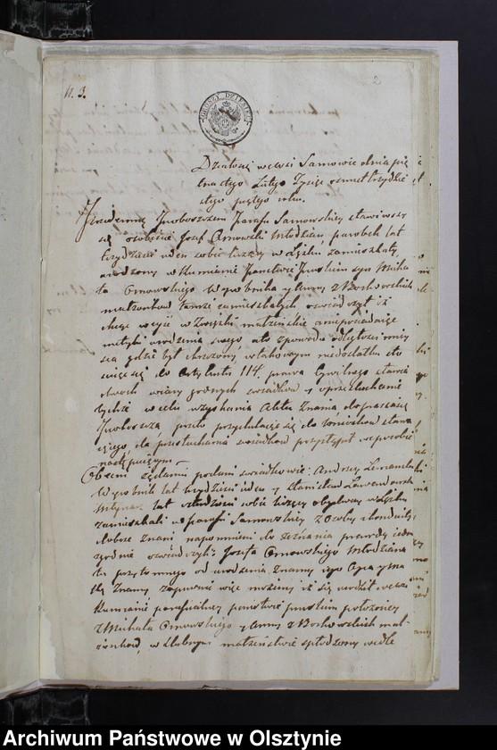 """image.from.unit """"Annexa należące do Aktów Małżenstwa w parafii Sarnowskiey z roku 1835"""""""