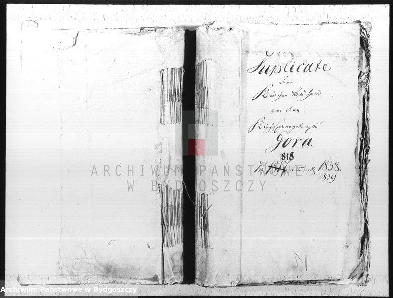 """image.from.unit """"Duplicate der Kirchenbücher von der katholischen Parochie Góra"""""""