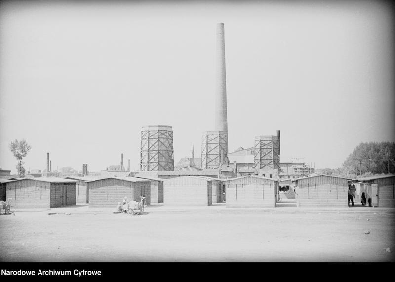 Obiekt Widok zewnętrzny zabudowań przemysłowych. z jednostki Częstochowa