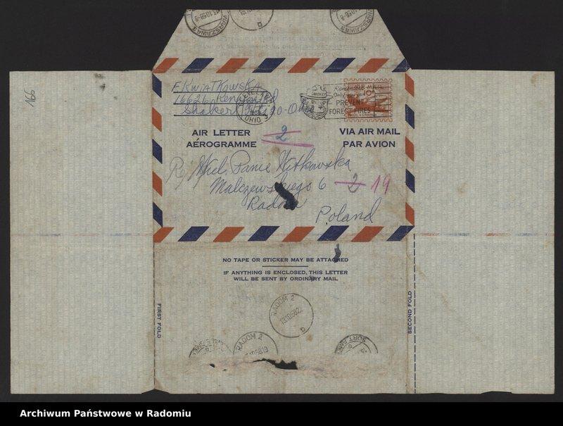 """Obraz 5 z kolekcji """"Archiwalny przegląd pocztowy"""""""