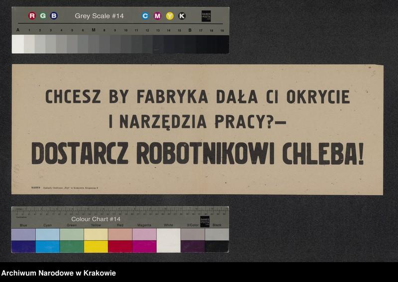 """Obraz 9 z kolekcji """"Propaganda PRL- u w Zbiorze afiszy"""""""