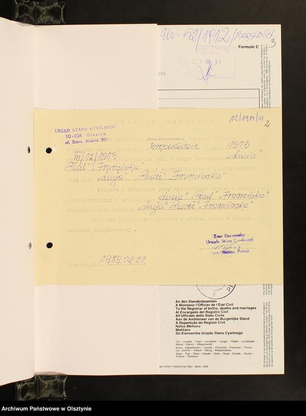 """Obraz z jednostki """"Akta zbiorowe [urodzenia 1885-1914, małżeństwa 1921-1930]"""""""