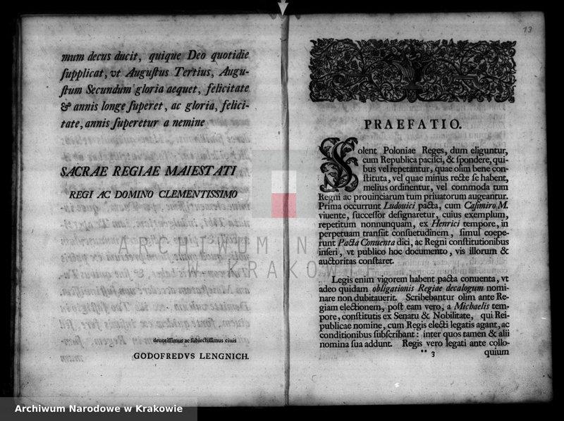 """Obraz 14 z kolekcji """"Staropolskie akta miasta Bochni"""""""
