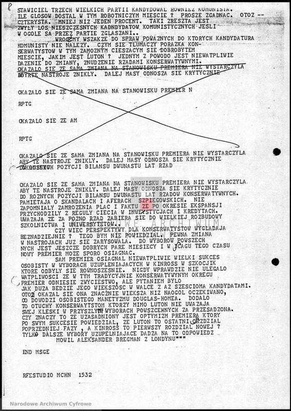 """Obraz 9 z jednostki """"Skrypty audycji z dnia 09.11.1963"""""""