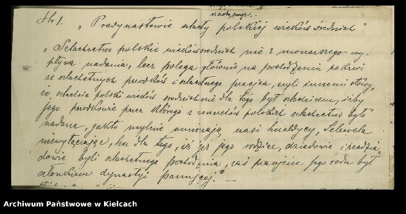 """Obraz 5 z kolekcji """"Kronika rodzinna Truszkowskich i Czajkowskich, 1899-1899"""""""