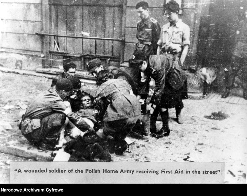 """Obraz 3 z kolekcji """"Powstanie Warszawskie 1944"""""""
