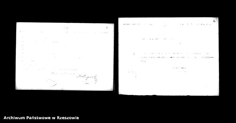 """Obraz z jednostki """"Spis Żydów w Mielcu sporządzony przez Radę Żydowską (Judenrat) 15.VIII.1940 (i 2 raporty o stanie zatrudnienia Żydów)"""""""