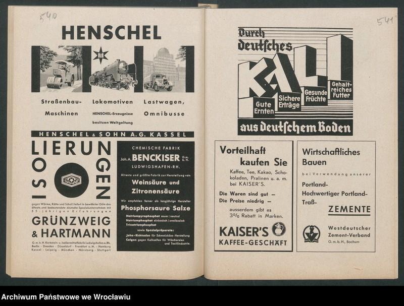 """Obraz 13 z kolekcji """"Reklamy znanych marek w roczniku """"Unsere Saar"""" z 1935 roku"""""""