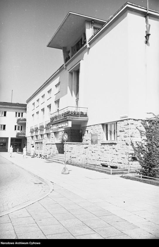 Obiekt Fragment budynku restauracji uzdrowiskowej. z jednostki Wisła