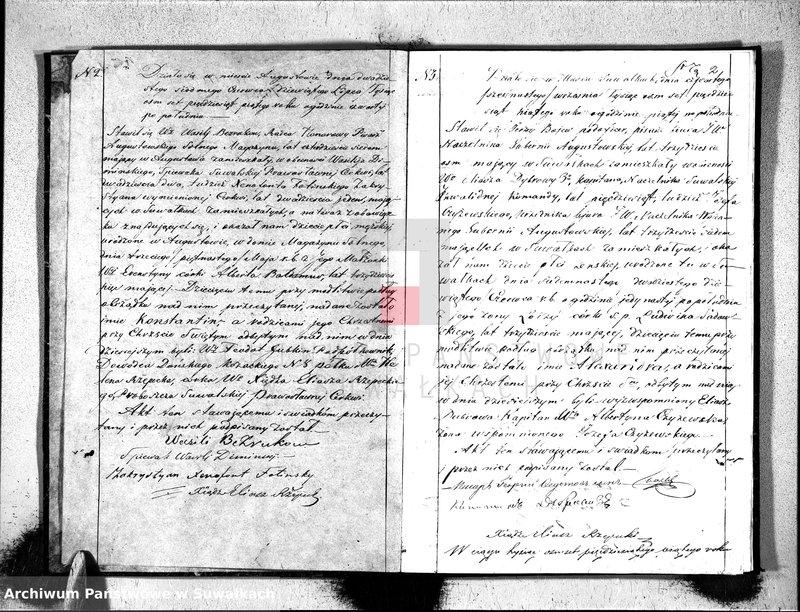 """image.from.unit """"Duplikat aktów Stanu Cywilnego Suwalskiej Prawosławnej Parafii."""""""