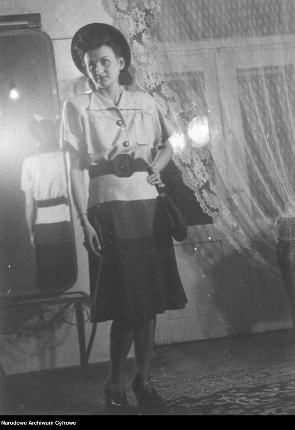 """Obraz 13 z kolekcji """"Moda damska lata 1940"""""""