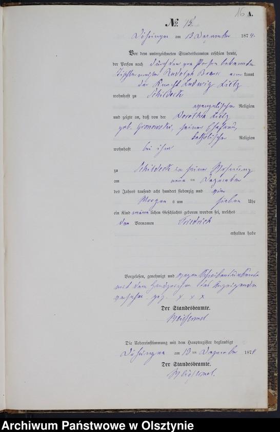"""image.from.team """"Urząd Stanu Cywilnego w Durągu pow. ostródzki"""""""