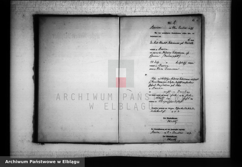 """image.from.unit """"Księga zgonów 1877 rok"""""""