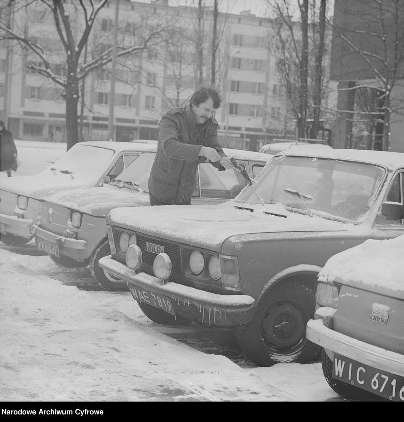 """Obraz 1 z kolekcji """"Zima w mieście"""""""
