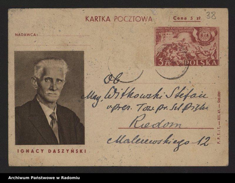 """Obraz 7 z kolekcji """"Archiwalny przegląd pocztowy"""""""