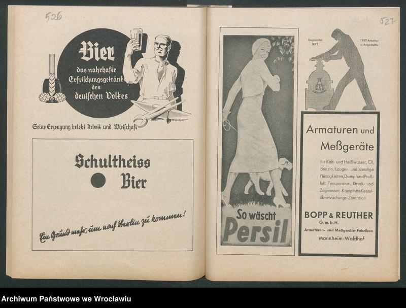 """Obraz 5 z kolekcji """"Reklamy znanych marek w roczniku """"Unsere Saar"""" z 1935 roku"""""""