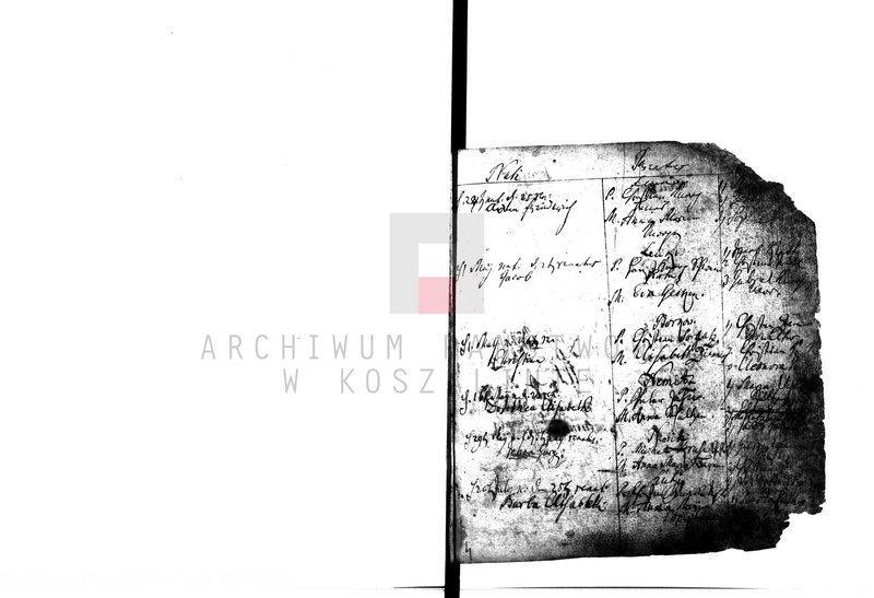 """Obraz 7 z kolekcji """"Najstarsze księgi metrykalne w zasobie AP w Koszalinie"""""""