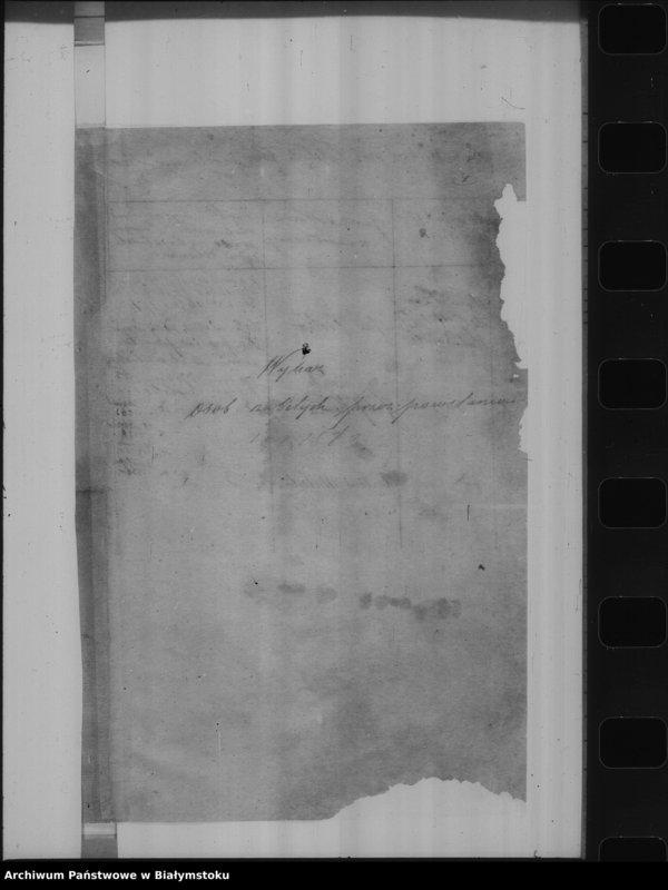 """Obraz z jednostki """"Akta polityczne tyczące się nieporządków, 1861 r"""""""