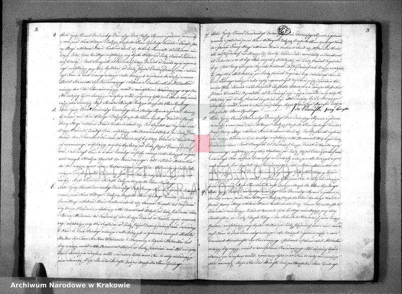 """Obraz z jednostki """"AKTA ZEJŚCIA STANU CYWILNEGO PARAFII PANNY MARYI z Roku 1829"""""""