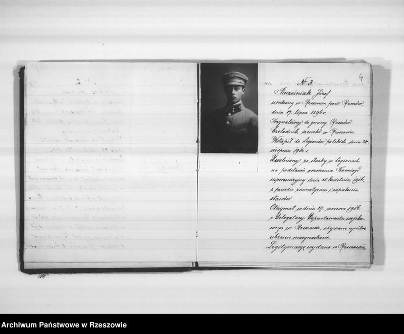 """Obraz 7 z jednostki """"Delegatura Departamentu Wojskowego N.K.W. Rzeszów (album superarbitrowanych Legionistów)."""""""