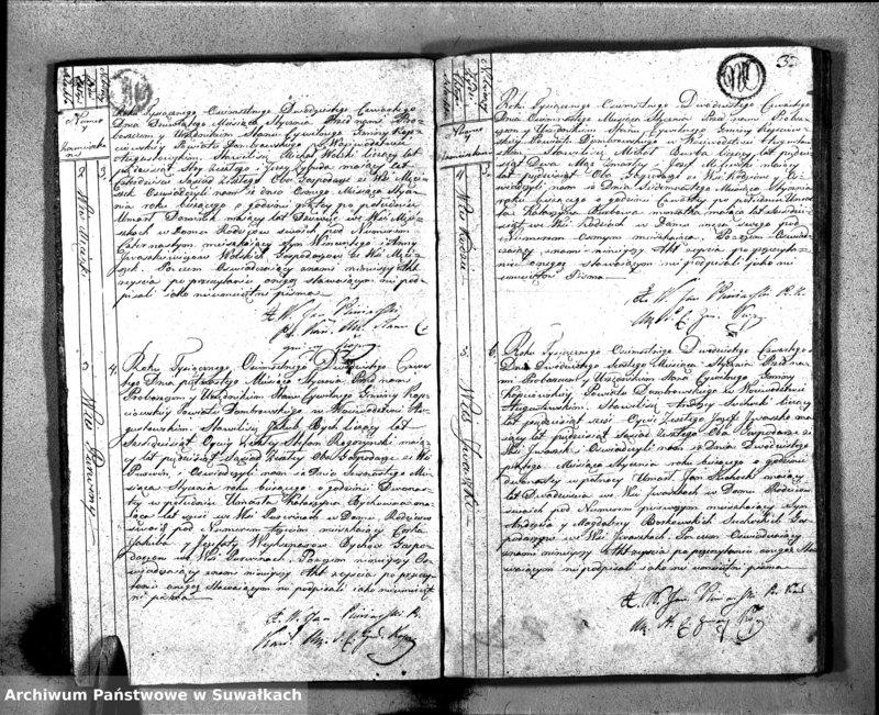 """image.from.unit """"Akta Zeszłych Stanu Cywilnego Gminy Kopciowskiey na Rok 1824"""""""