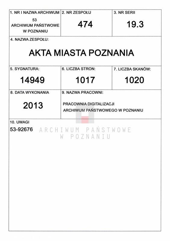 """Obraz 1 z jednostki """"Powałowski - Preibisz (Prei..)"""""""