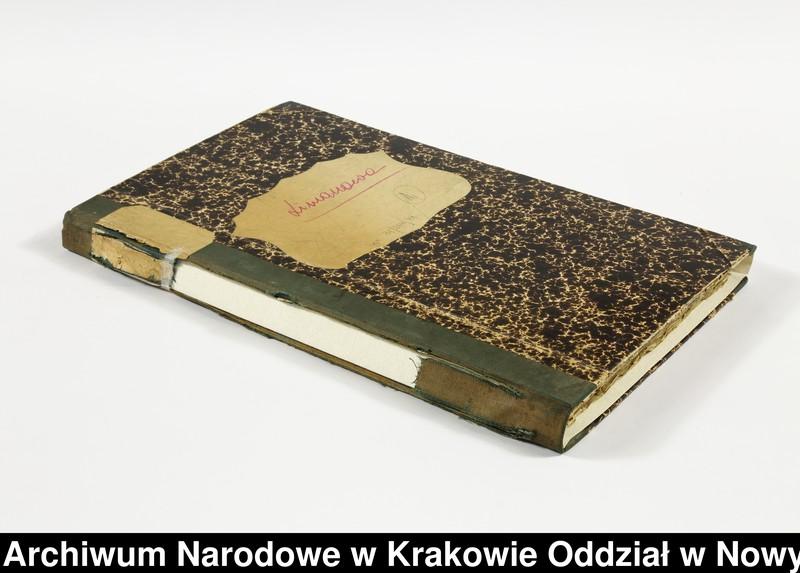 """Obraz 11 z kolekcji """"Fragment księgi wójtowsko-ławniczej miasta Limanowej z lat 1750-1818"""""""