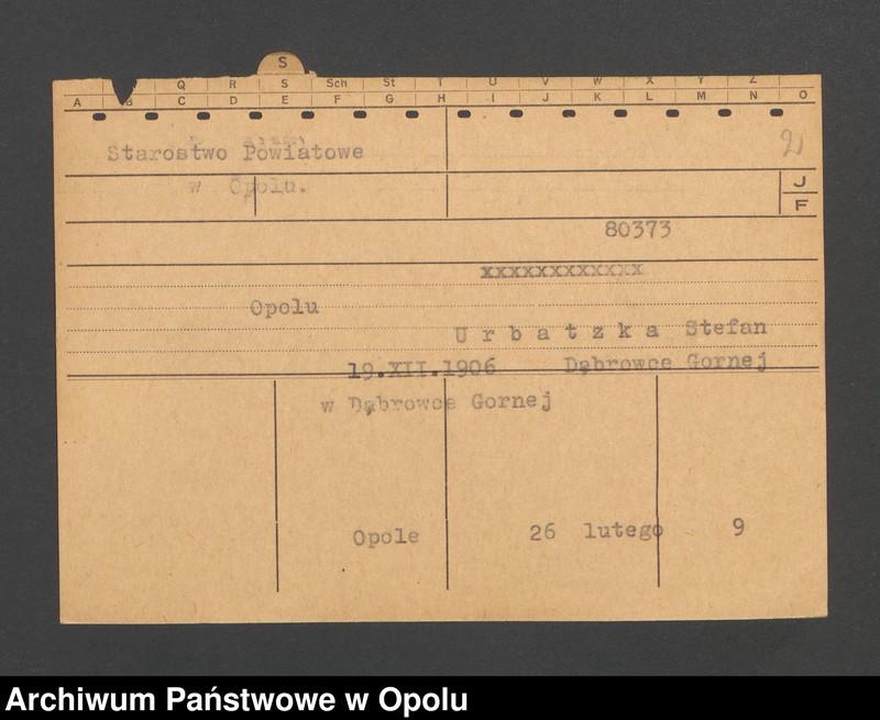 """Obraz 4 z jednostki """"[Nickel Karoline z domu Sklarzik, ur. 18.7.1893, zam. Gnadenkirch-Tellsruh]"""""""