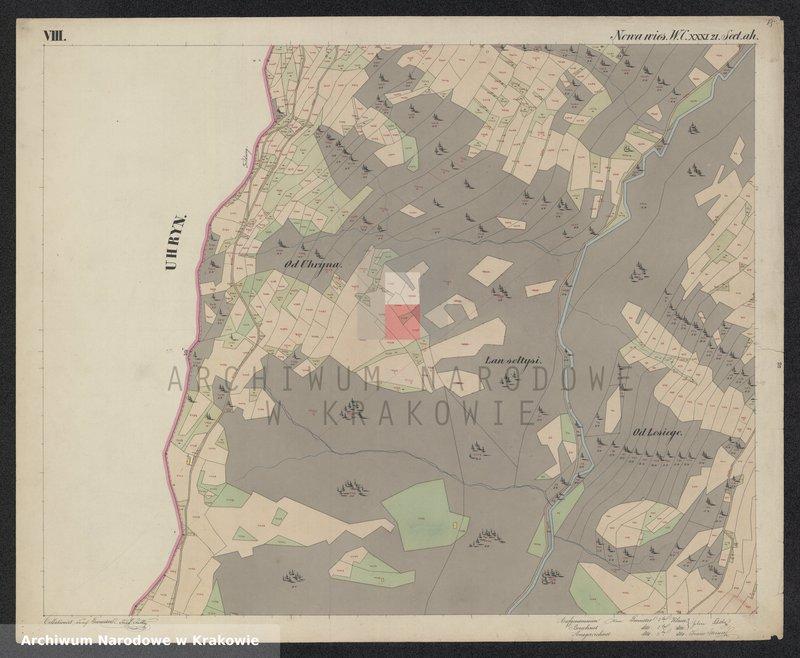 """Obraz 12 z jednostki """"216 Dorf Nowa Wieś in Galizien Sandecer Kreis"""""""