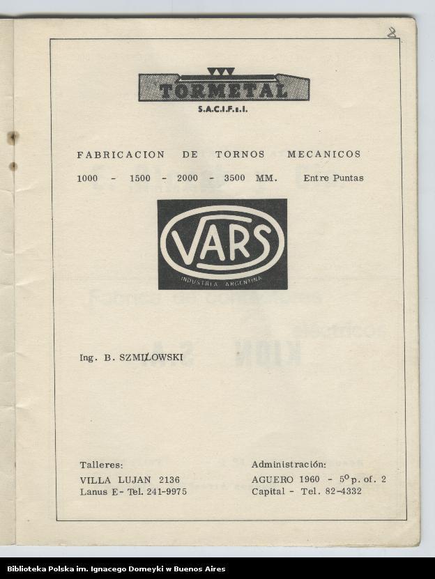 """Obraz 7 z kolekcji """"Nasz Balet 1949-1974 z Biblioteki Polskiej im. Domeyki w Buenos Aires"""""""