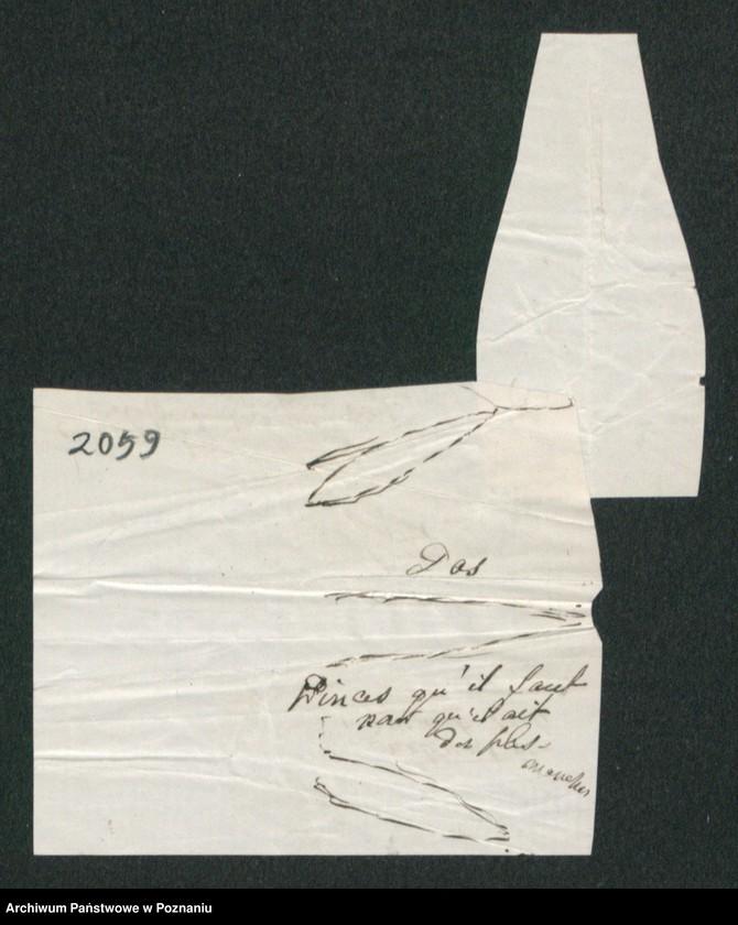 """Obraz 5 z kolekcji """"Szkice krawieckie w korespondencji Józefy Radolińskiej (1809-1880) z jej synem Hugonem (1841-1917) i synową Lucy Catherine Wakefield"""""""