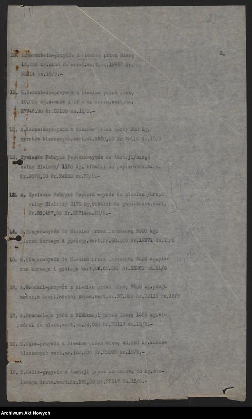 """Obraz z jednostki """"[Dzienniki posiedzeń za miesiąc IX 1919 r.]"""""""