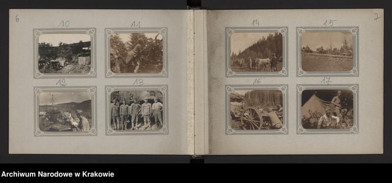 """Obraz z jednostki """"Album 37 fotografii z okresu I wojny światowej"""""""
