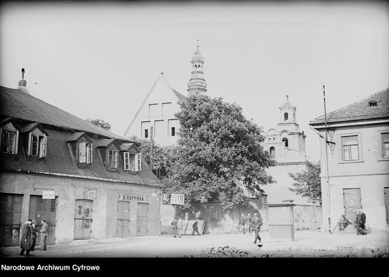 Obiekt Fragment zabudowy miejskiej. z jednostki Częstochowa