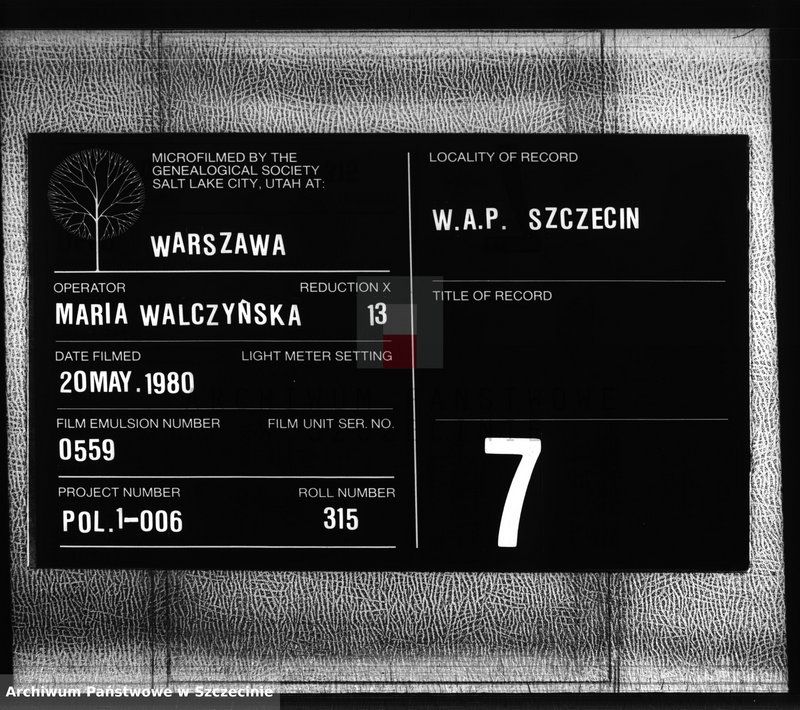 """Obraz z zespołu """"Urząd Stanu Cywilnego w Karnicach"""""""