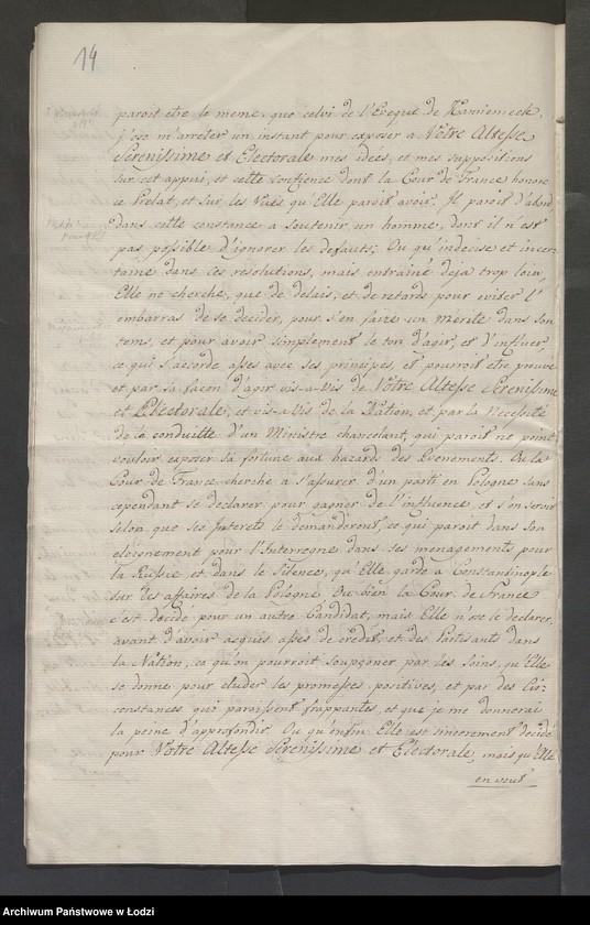 """Obraz 16 z kolekcji """"Rękopisy i druki z okresu staropolskiego"""""""