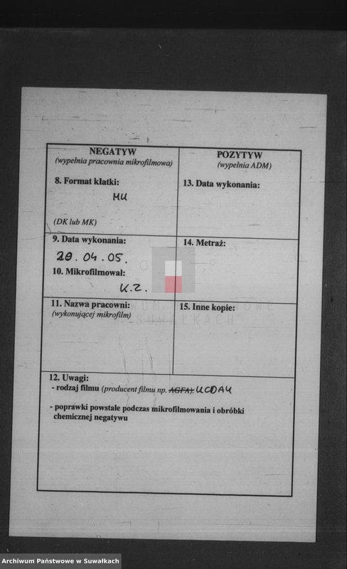 """Obraz z jednostki """"[Akta urodzeń wyznania rzymskokatolickiego parafii w Krasnymborze z lat 1894-1899]"""""""