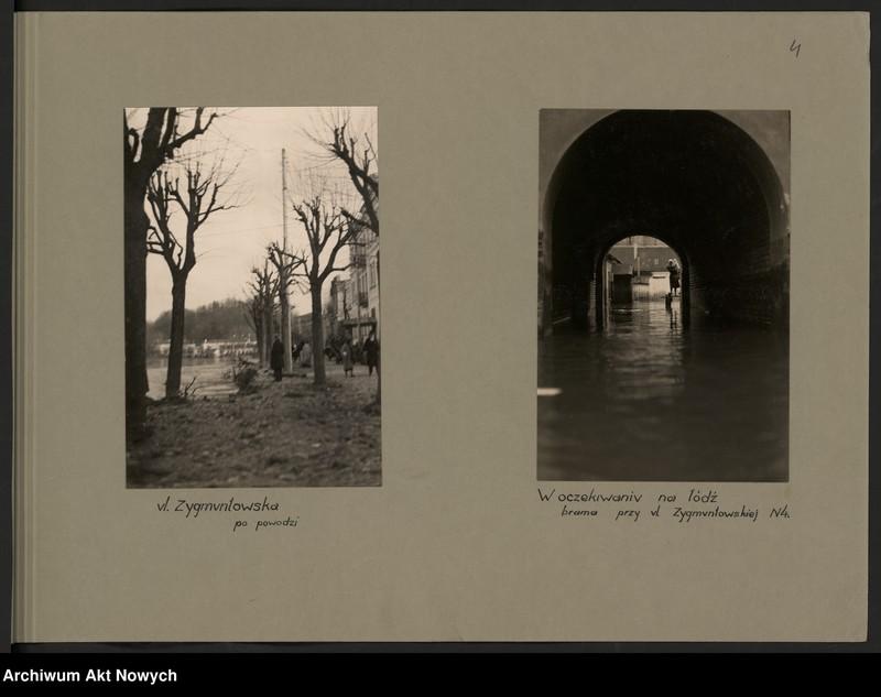 """Obraz 7 z jednostki """"Powódź na Wileńszczyźnie w 1931 r. Album z fotografiami."""""""
