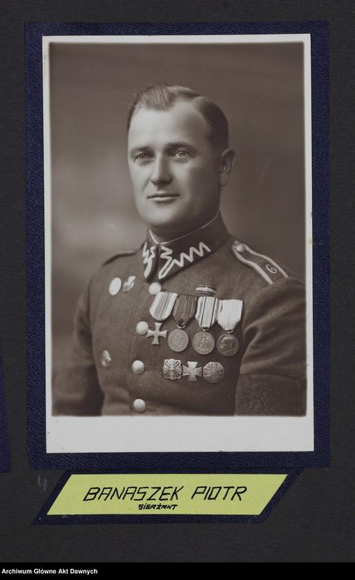 """Obraz 12 z jednostki """"Zbiór fotografii. Album Korpus podoficerów zawodowych 6 pułku piechoty Legionów. Wilno 28 VII 1934."""""""