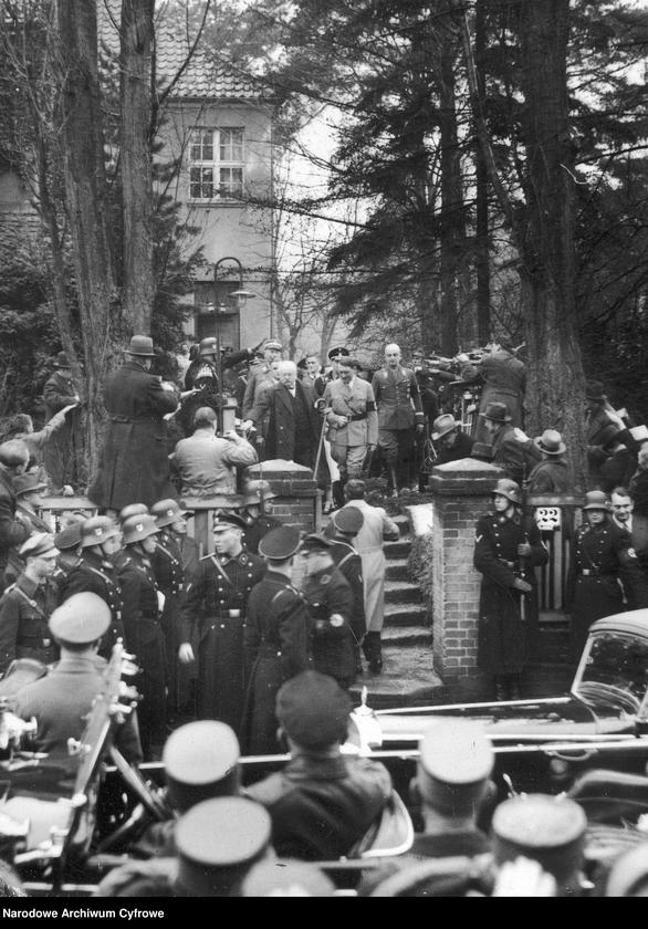 """image.from.unit.number """"Uroczystość z okazji 85-rocznicy urodzin gen. Karla Litzmanna w Berlinie """""""