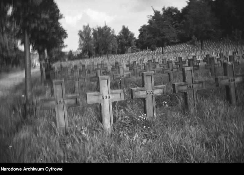 Obiekt Kwatera Orląt na Cmentarzu Janowskim. z jednostki Lwów