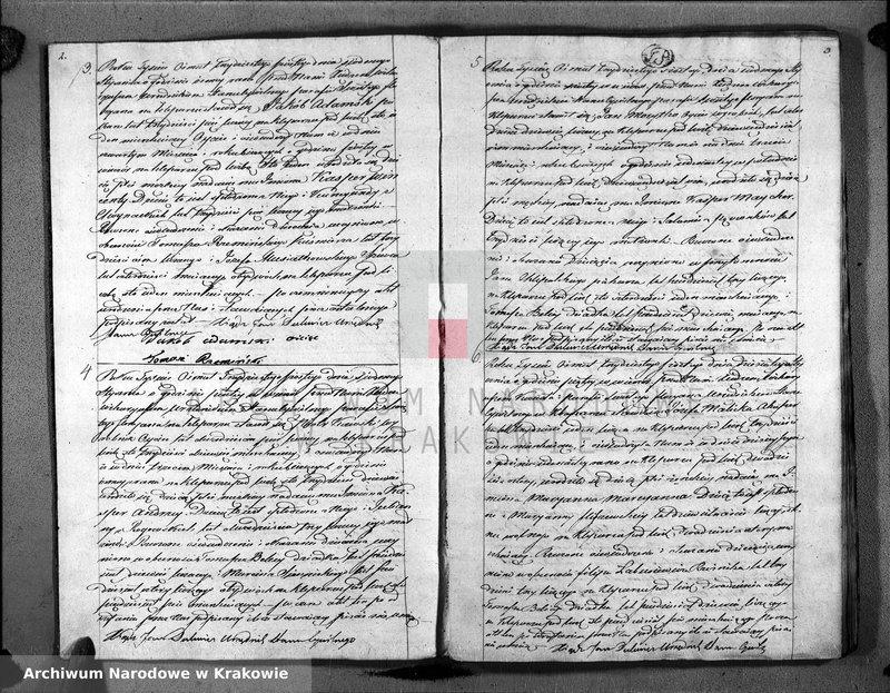 """Obraz z jednostki """"Księga Aktow Urodzenia i Uznania parafii S Floryana na Rok 1836"""""""