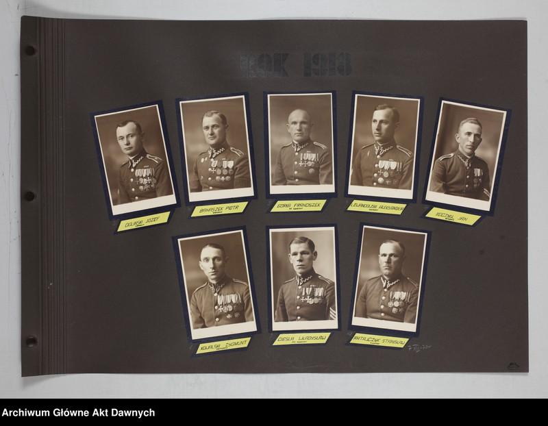 """Obraz 10 z jednostki """"Zbiór fotografii. Album Korpus podoficerów zawodowych 6 pułku piechoty Legionów. Wilno 28 VII 1934."""""""