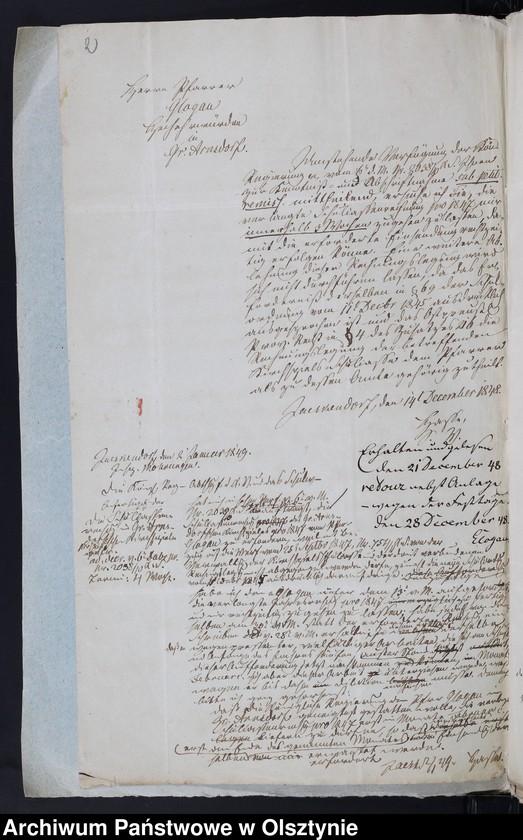 "image.from.unit ""Schul-Casen Rechnung der Arnsdorffschen Kirche"""