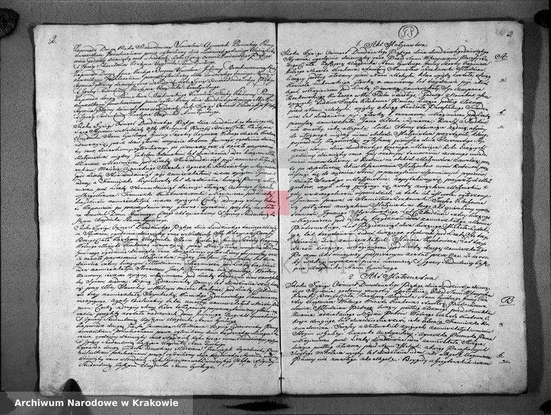"""Obraz z jednostki """"czytane Książka Aktów Zapowiedzi i Małżeństw dla Parafii Bożego Ciała na Rok 1825"""""""