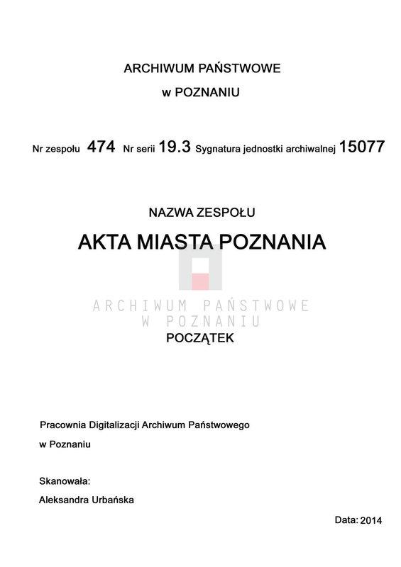 """Obraz 2 z jednostki """"Stankunowicz - Starosta"""""""