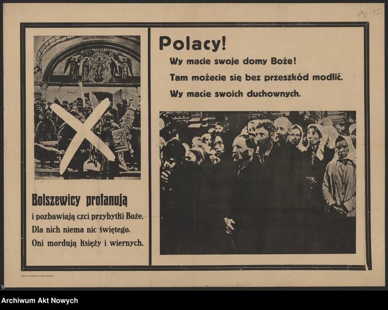 """Obraz 10 z kolekcji """"Propaganda niemiecka z okresu II wojny światowej."""""""