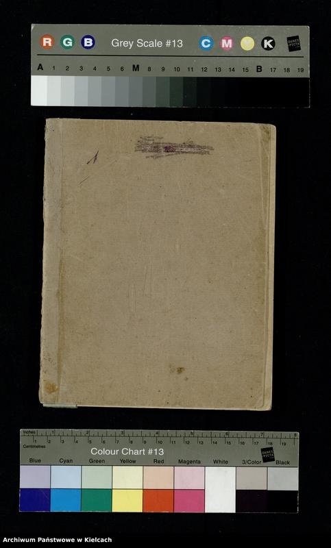 """Obraz 2 z jednostki """"Notatnik z piosenkami S.P. i O. z 1920 roku oraz Notesik żołnierski Stanisławy Olędzkiej-Daszewskiej"""""""